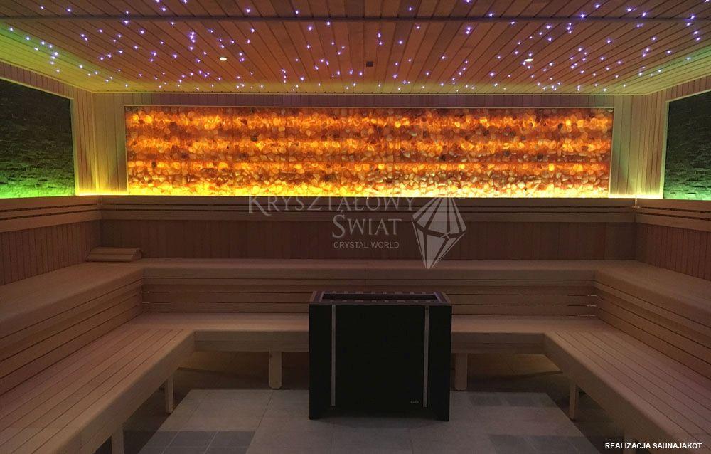Pannelli di sale per saune